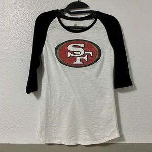 NFL Juniors Collection SF San Francisco 49ers Tee